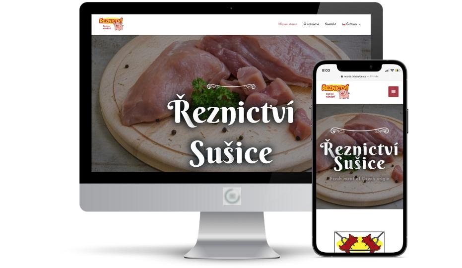 Webové řešení reznictvisusice.cz